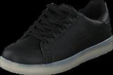 Network - LED-Sneakers Men Black