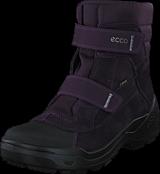 Ecco - 732633 Snow Rush Black/Night Shade/Night Shade
