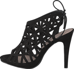 Bianco - Cutout Stiletto Sandal JJA16 Black