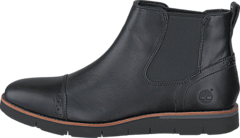 Timberland - Preston Hills Chelsea Black Full-Grain