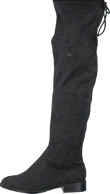 Steve Madden - Odina Overknee Black Micro