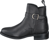PrimeBoots - Ascot Low Pull Up PR012 Black Brass