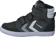 Hummel - Hummel stadil JR high Black/White/Grey