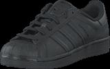 adidas Originals - Superstar Foundation J Core Black/Core Black