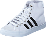 adidas Originals - Courtvantage Mid White/Black/Metallic Silver