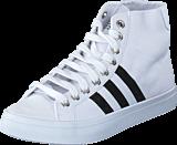 adidas Originals - Courtvantage Mid White/Black/Metallic Silver