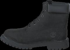 Timberland - 6 In Premium C12907 Black Nubuck Mono