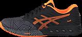 Asics - Fuzex Aluminum / Hot Orange / Black