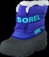 Sorel - Childrens Snow Commander Purple Lotus, Clear Blue