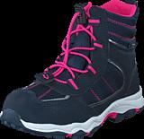 Leaf - Haugesund Waterproof Navy/Pink