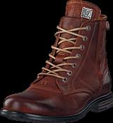 Sneaky Steve - Kingdom Leather Shoe COGNAC