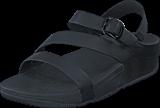 Fitflop - The Skinny Z-Cross Sandal All Black