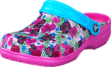 Crocs - Classic Graphic Clog K Multi-Color Pink