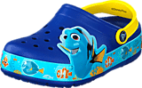 Crocs - Crocs Lights Finding Dory Clog Cerulean Blue/Lemon