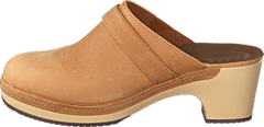 Crocs - Crocs Sarah Leather Clog Camel