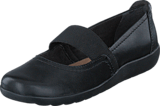 Clarks - Medora Ally Black Leather