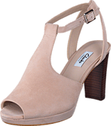 Clarks - Kendra Charm Nude Suede
