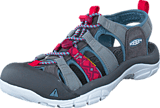 Keen - Newport Evo H2 *Limited* Neutral Gray/Raspberry