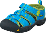 Keen - Newport H2 Tots Hawaiian Blue/Green Glow