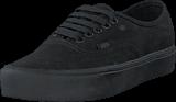 Vans - UA Authentic Lite (Canvas) Black/Black