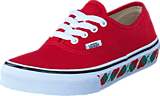 Vans - UY Authentic red/black
