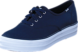 Keds - Triple Seasonal Solid Peacoat Navy
