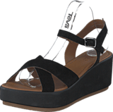 Pieces - Pslama Suede Sandal Black