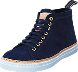 Sneaky Steve - Silvermine High Navy suede