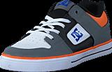 DC Shoes - Dc Kids Pure Elastic B Shoe Grey/Blue/White