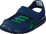 adidas Sport Performance - Fortaswim I Collegiate Navy/Core Green S17