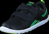 Reebok Classic - Ventureflex Chase II Black/Bottle Green/Kiwi Green/