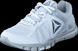 Reebok - Yourflex Trainette 9.0 MT Wht/Skull Grey/Silver Met/Grey