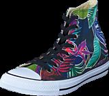 Converse - All Star Tropical Print Hi Fuschia Glow/Menta