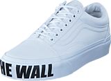 Vans - UA Old Skool Platform (Off the Wall) true white
