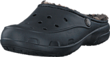 Crocs - Crocs Freesail Leopard Lined Black/Gold