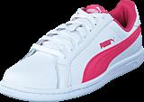 Puma - Smash FUN L JR White-Rapture Rose