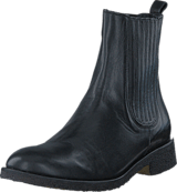 Angulus - Boot w. elastic slip-on design Black