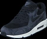 Nike - Wmns Air Max 90 Prm Black/Black-Sail-Dk Grey