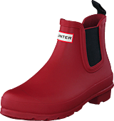 Hunter - Womens Original Chelsea Red