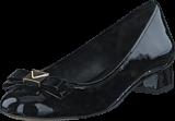 MICHAEL Michael Kors - Caroline Slipper Patent 001 Black