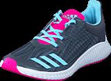 adidas Sport Performance - Fortarun K Grey Five F17/Icey Blue F17/Gr