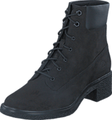 Timberland - Brinda 6in Lace Up Black Nubuck