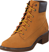 Timberland - Brinda 6in Lace Up Wheat Nubuck