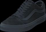 Vans - UA Old Skool (Suede) Black/Black/Black