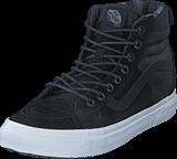 Vans - (MTE) black/flannel UA SK8-Hi 46 MTE DX