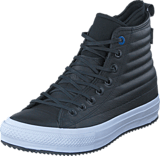 Converse - All Star WP Boot Leather Hi Black/Blue Jay/White