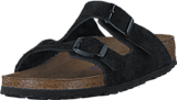 Birkenstock - Arizona Slim Soft Black Suede