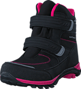 Gulliver - 435-6608 Waterproof Warm Lined Black/Fuchsia