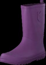 Hummel - Rubberboot Argyle Purple