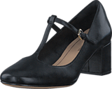 Clarks - Orabella Fern Black Leather